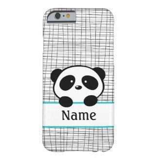 Personalised Panda iPhone Case