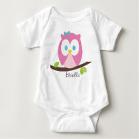 Owl on a Branch Infant Creeper