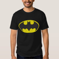 Batman Bat Logo Oval Tee Shirt