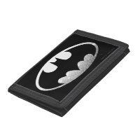 Batman Symbol | Grainy Logo Tri-fold Wallets