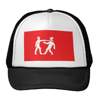 Benin Empire Flag Mesh Hats