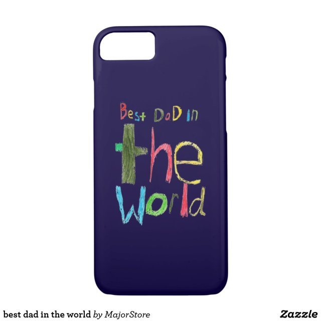 Best dad in the world iPhone case