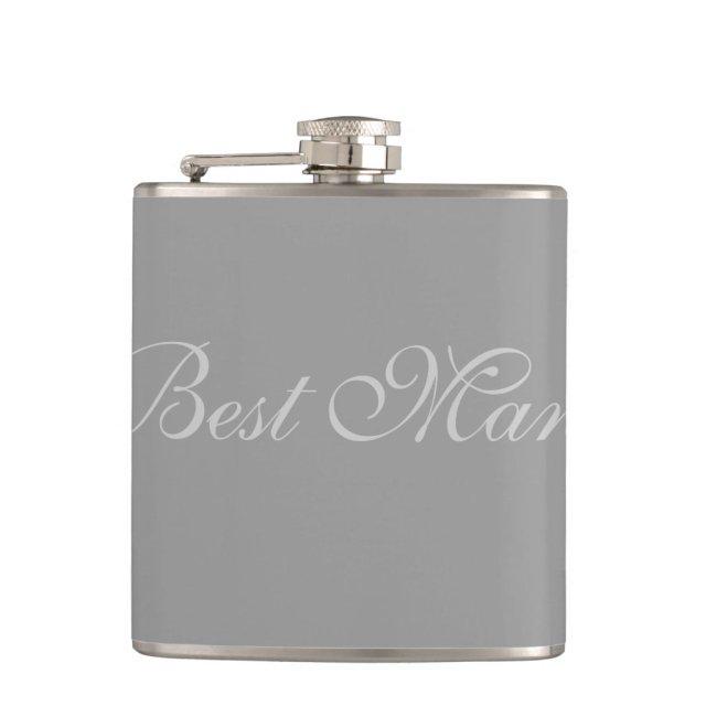 Best Man Flask