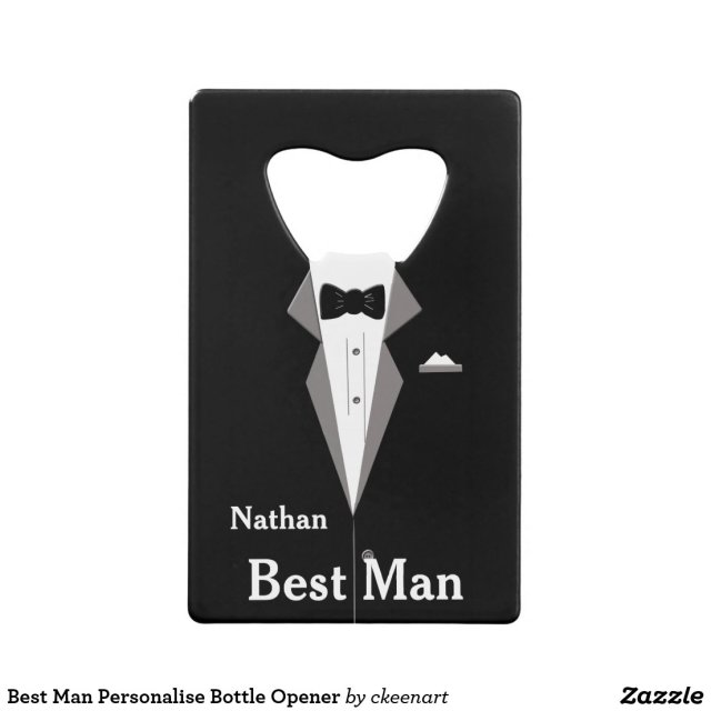 Best Man Bottle Opener
