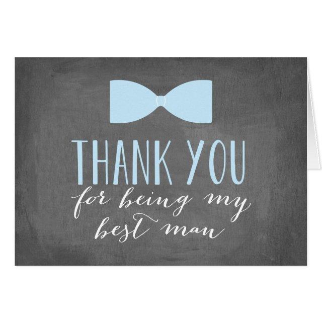 Best Man Thank You Card