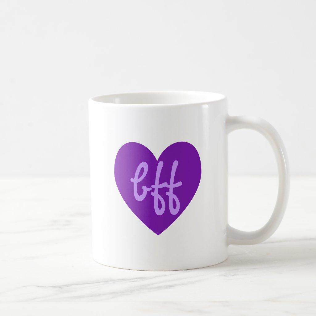 bff in Purple mug