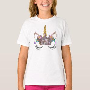Big Sister Unicorn Shirt