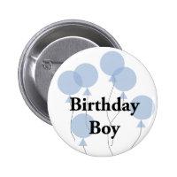 Birthday Boy 2 Inch Round Button