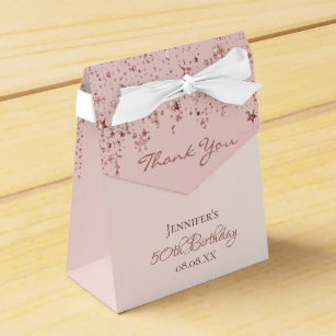 50th Birthday Favours Packaging Zazzle Co Uk