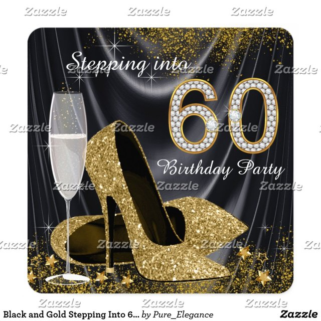 Stepping Into 60 Birthday Party