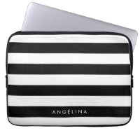 Striped Laptop Sleeve