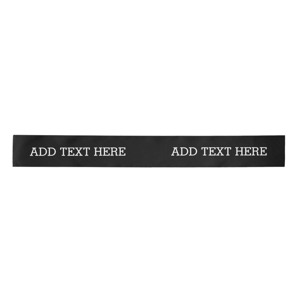 Black Create Your Own - Make It Yours Custom Text
