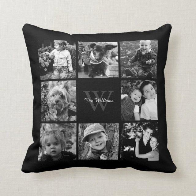 Custom Family Photo Cushion