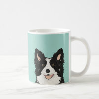 Border Collie Mug - Cute dog gift for collie owner
