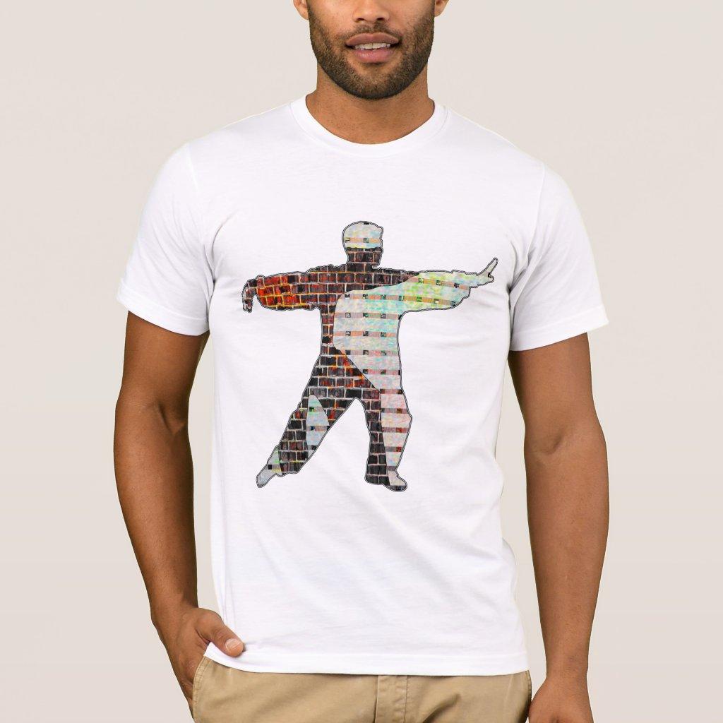 Brick Wall Strength In Tai Chi T-Shirt