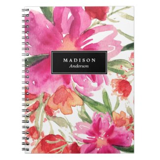 Bright Floral | Notebook