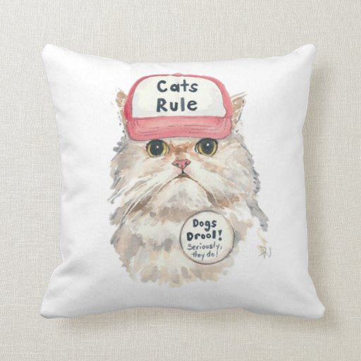 Cats Rule Cushion