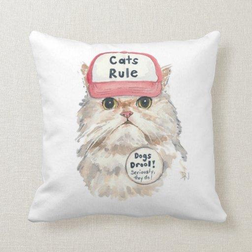 Cats Rule Cushion