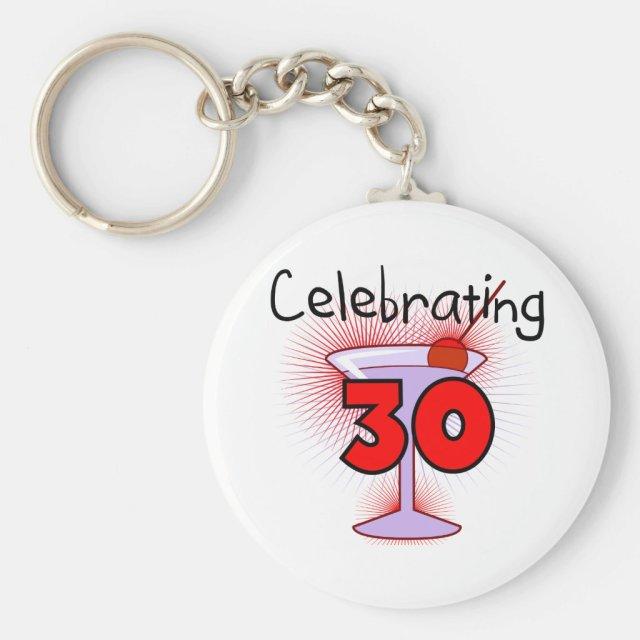 Celebrating 30th Keyring