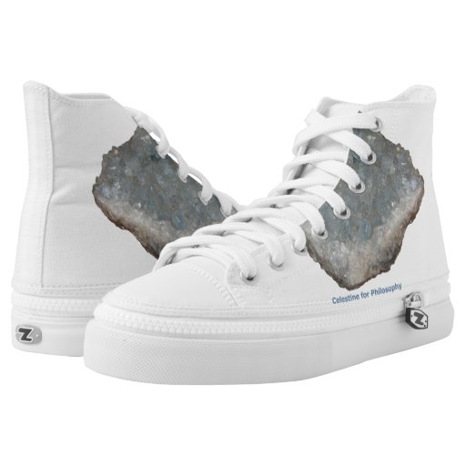 Celestine for Philosophy High Top Shoes Printed Shoes