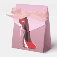 Red Stiletto Favor Box