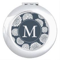 Flowers Monogram Mirror
