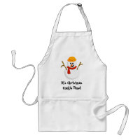 Christmas Cookie Time Apron