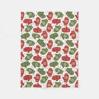 Christmas Mittens Blanket