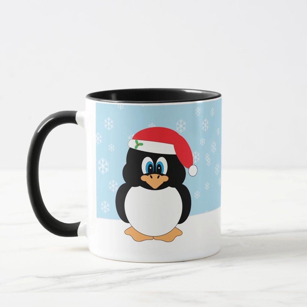 Christmas Penguin Mug