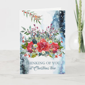 Christmas Sympathy Card - Thinking of You