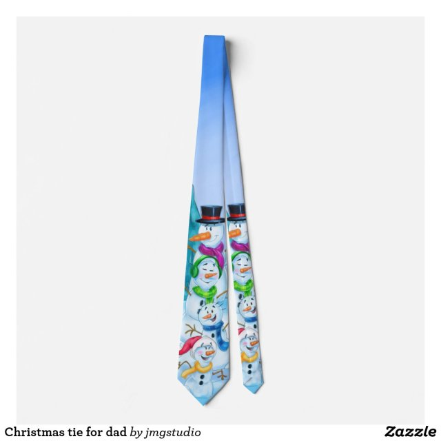 Christmas tie for dad