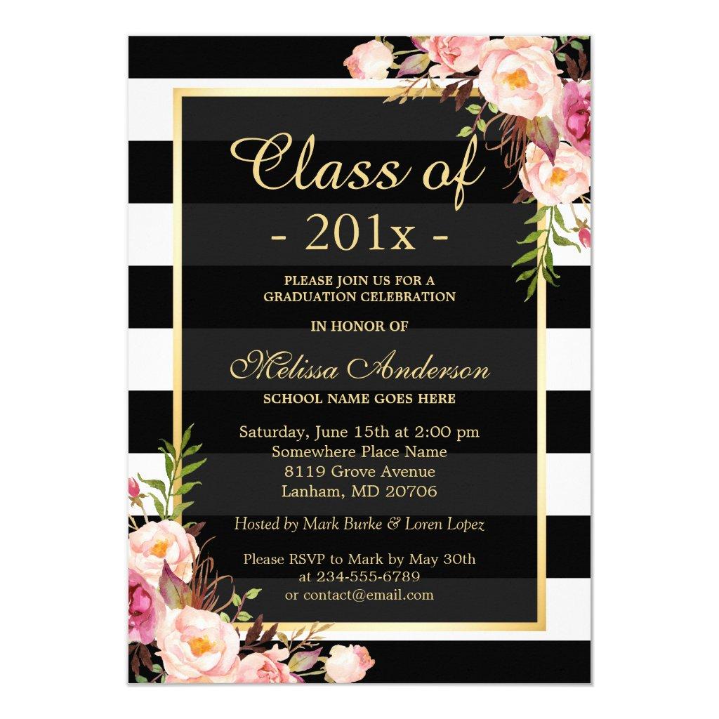 Class of 20XX Graduation Card