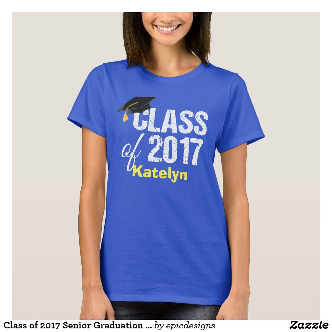 Class of 2017 Senior Graduation Custom
