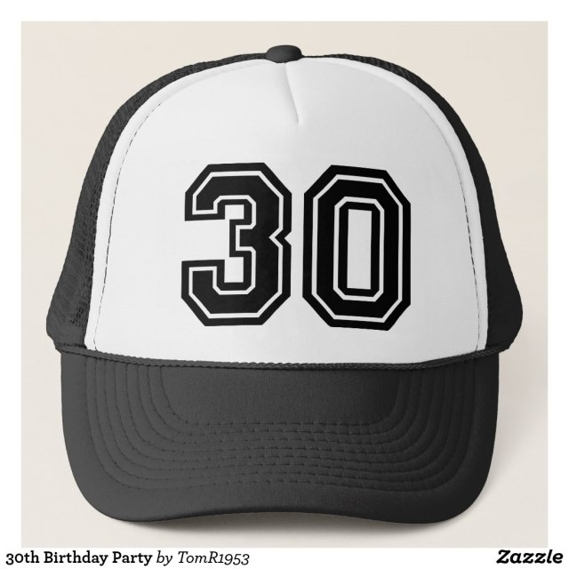 30th Birthday Hat