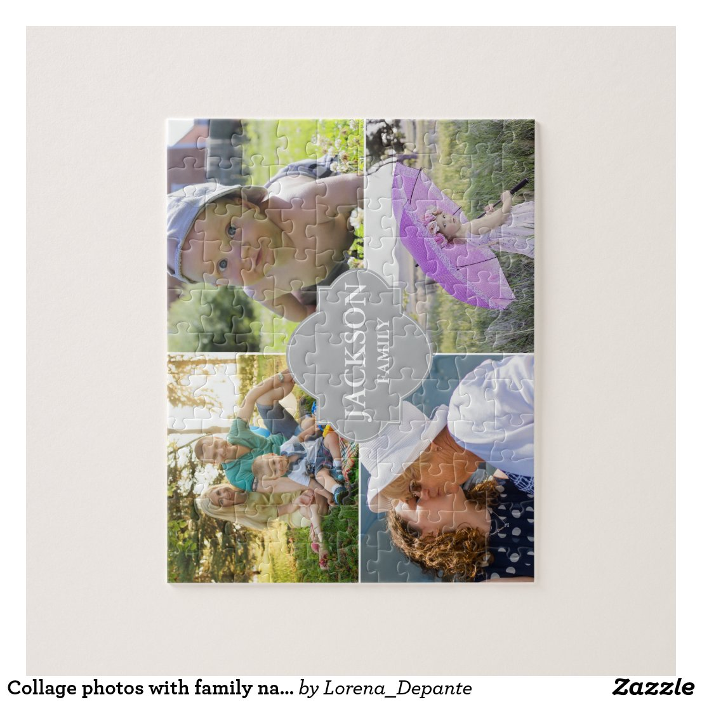 Collage photos Puzzle