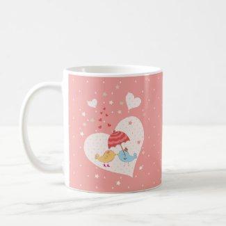 Cute Birds Mug