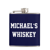 Create Your Own Whiskey Hip Flask