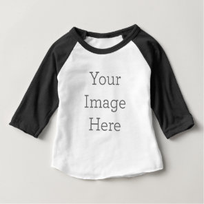 Create Your Own Baby 3/4 Sleeve Raglan T-Shirt