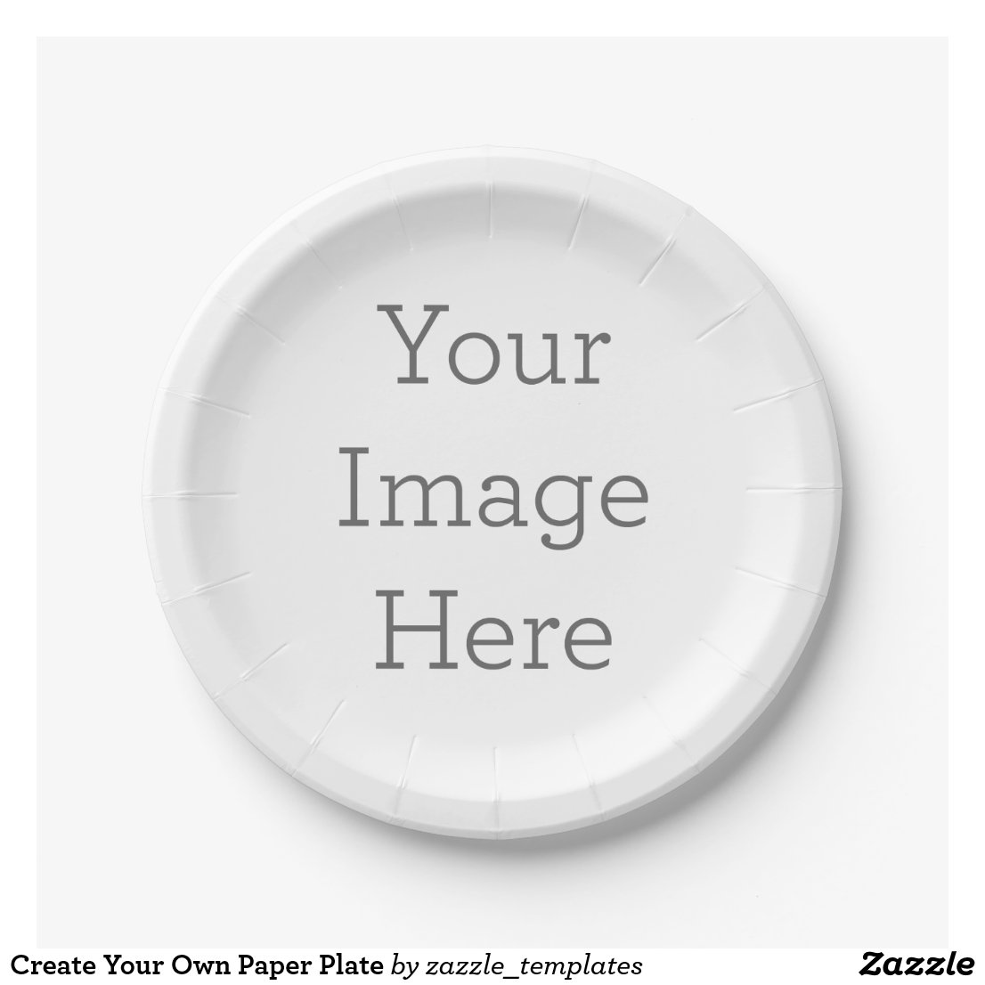 Create Your Own Paper Plate  sc 1 st  Your Ideal Gifts & Birthday Paper Plates   Personalised Paper Plates   Party Supplies