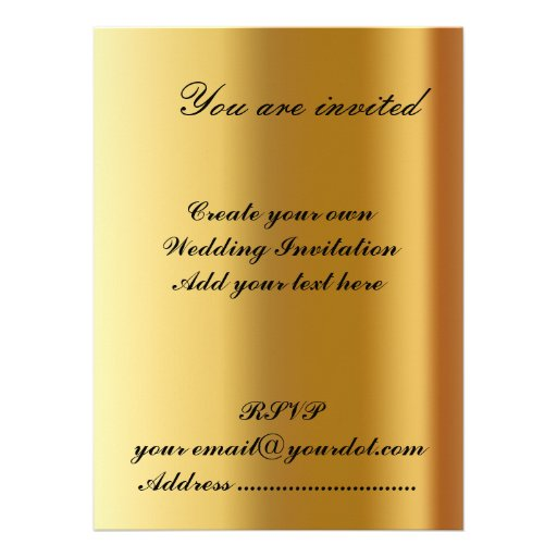 Make My Own Invitations