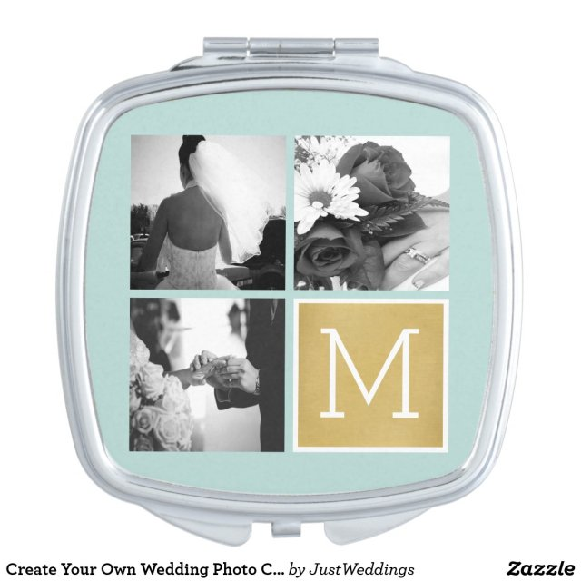 Create Your Own Wedding Compact Mirror