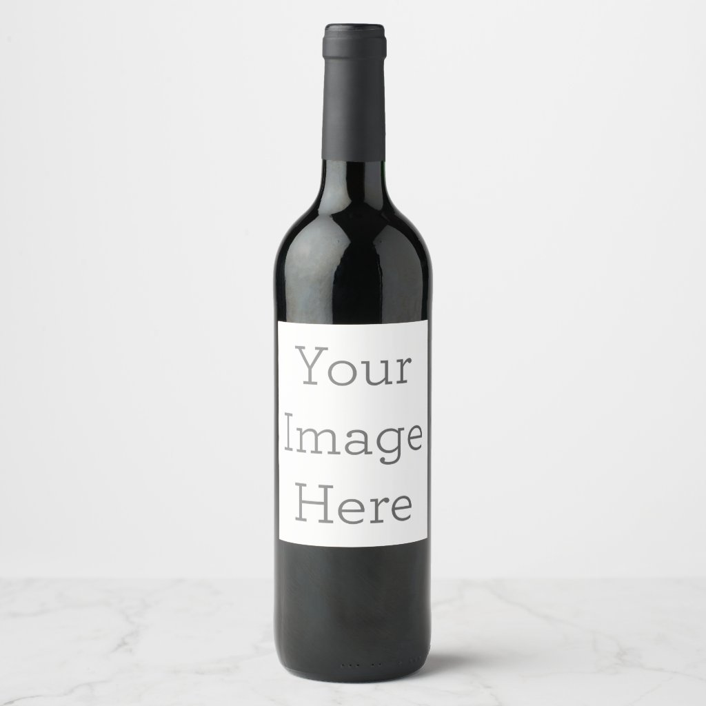 Create Your Own Wine Labels
