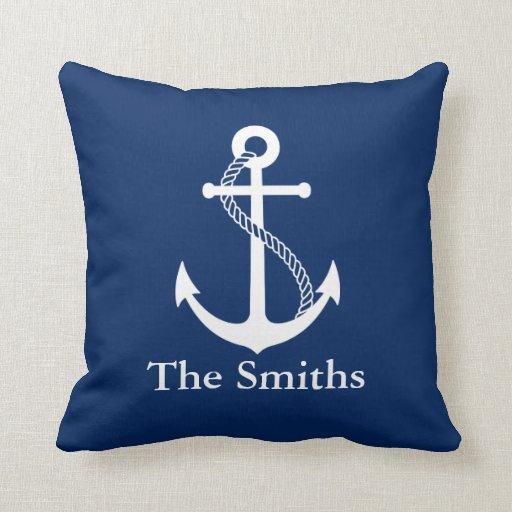 Custom Nautical Cushion