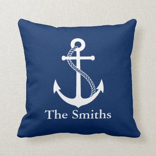 Custom Nautical Cushion