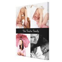 Custom Photo Collage Canvas Print