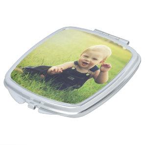 Custom Photo Pocket Mirror Travel Hand Mirror