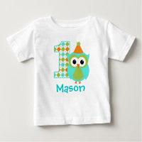 Customizable Owl T-Shirt