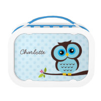 Personalised Owl Lunch Box