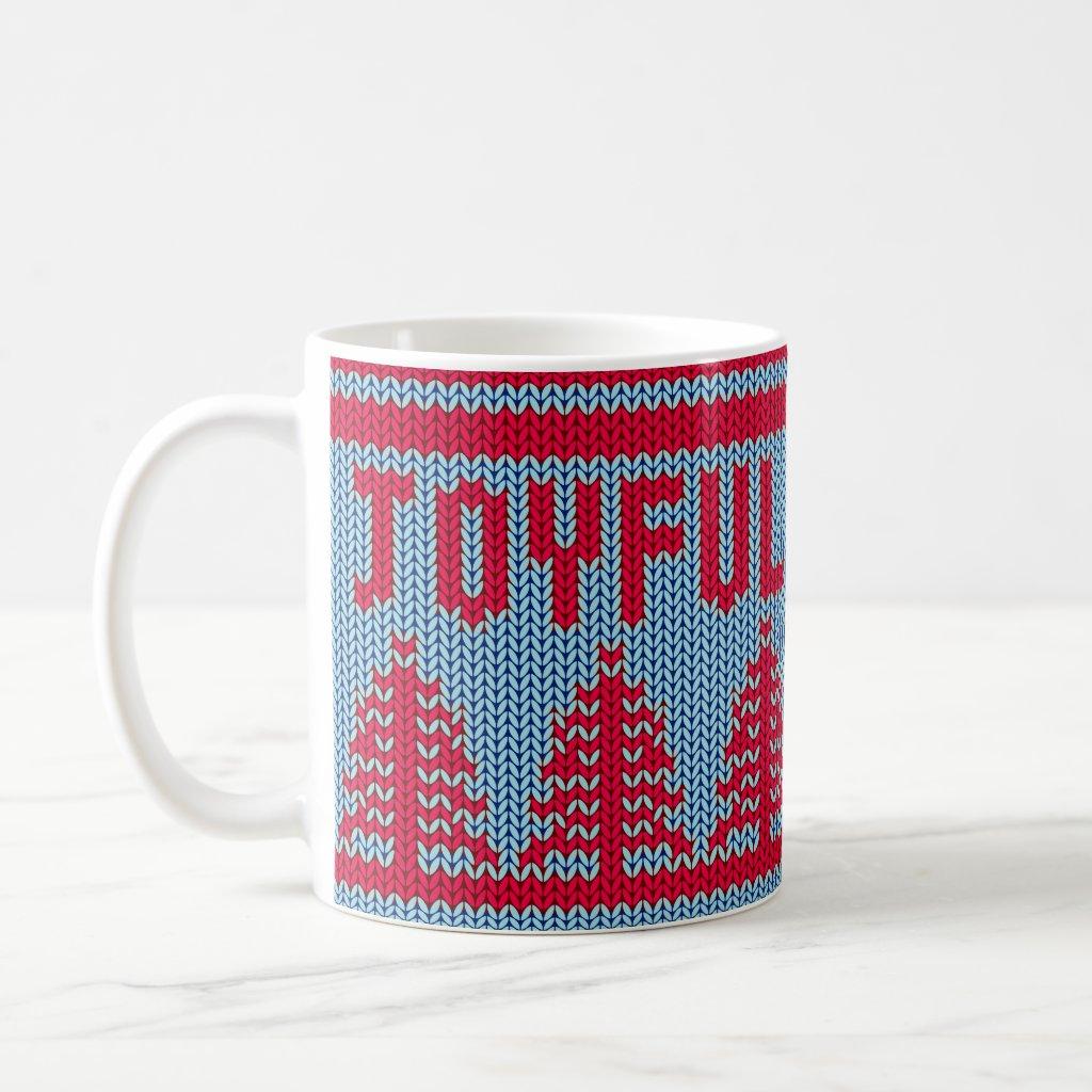 Cute Christmas Sweater Joyful | Mug