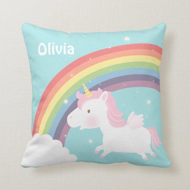 Cute Flying Unicorn Cushion